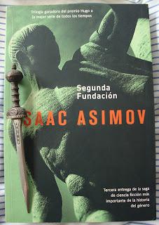 Portada del libro Segunda Fundación, de Isaac Asimov