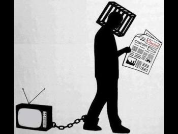 Imagen de alienación mediática