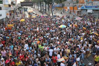 IMG 0067 - 13ª Parada do Orgulho LGBT Contagem reuniu milhares de pessoas