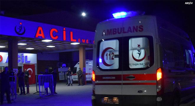 Diyarbakır-Elazığ Karayolunda kaza: 1 ölü 3 yaralı
