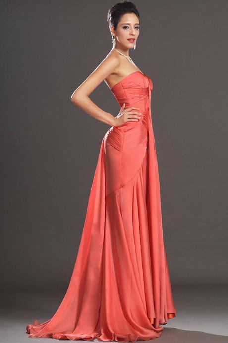 vestido de moda naranjo