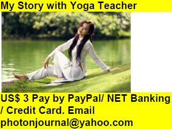 My Story with Yoga Teacher