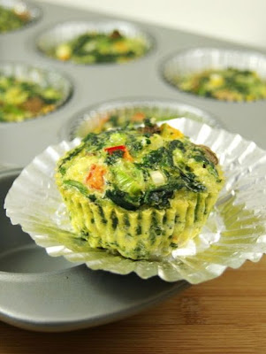 Veggie Quiche Cups Recipe