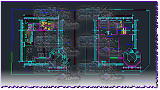 download-autocad-cad-dwg-file-project-office-with-cafeteria