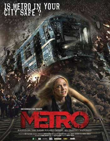 Poster Of Metro 2013 Hindi Dual Audio 600MB UNCUT BRRip 720p ESubs HEVC Free Download Watch Online downloadhub.in