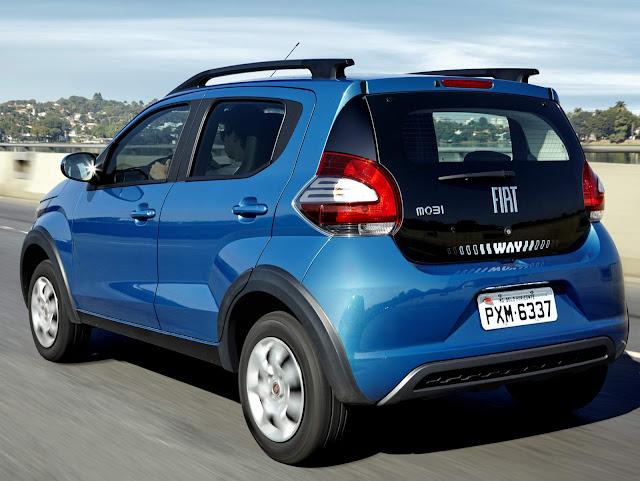 Fiat Mobi - abaixo de R$ 40 mil reais