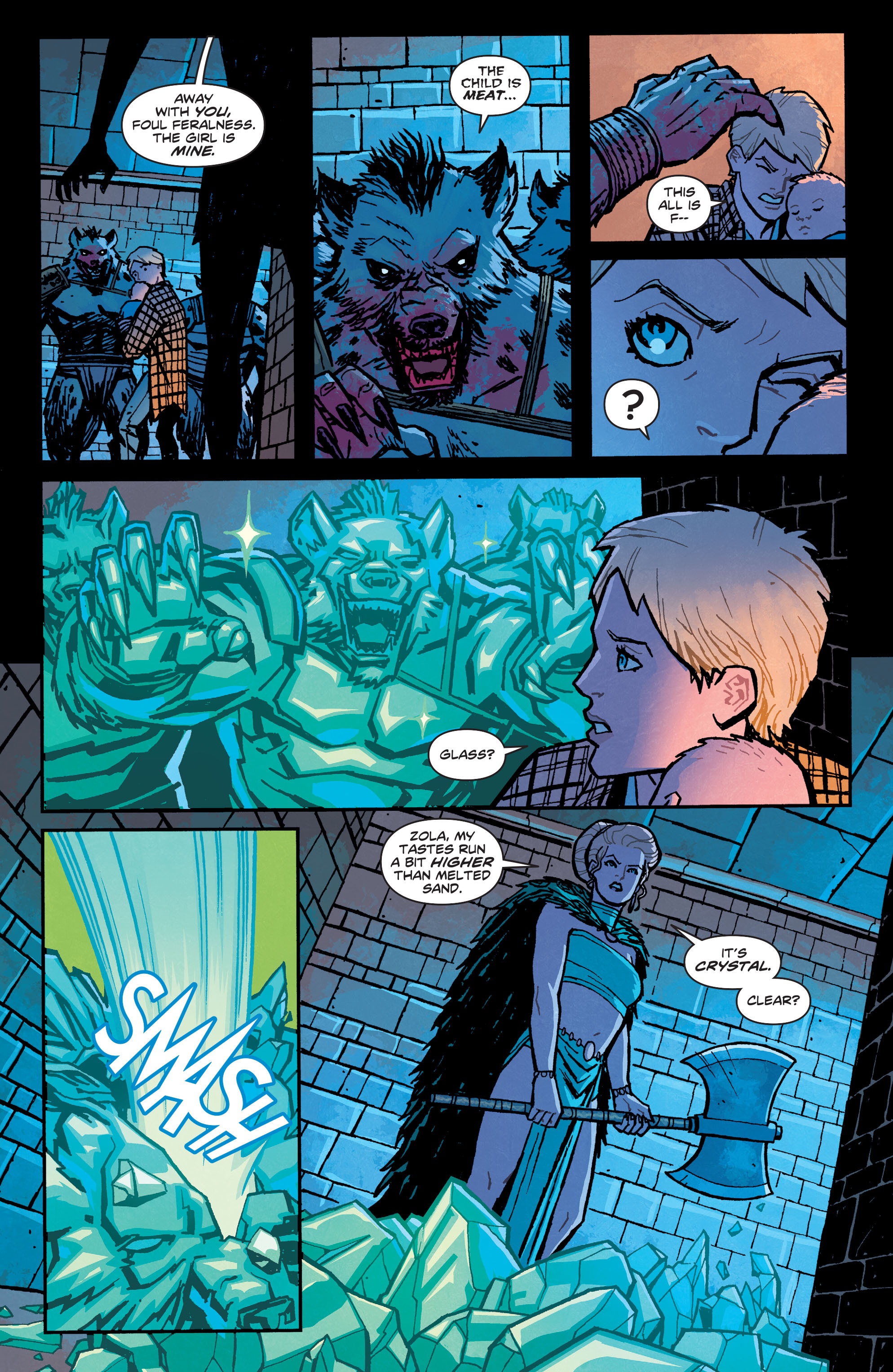 Read online Wonder Woman (2011) comic -  Issue #34 - 17