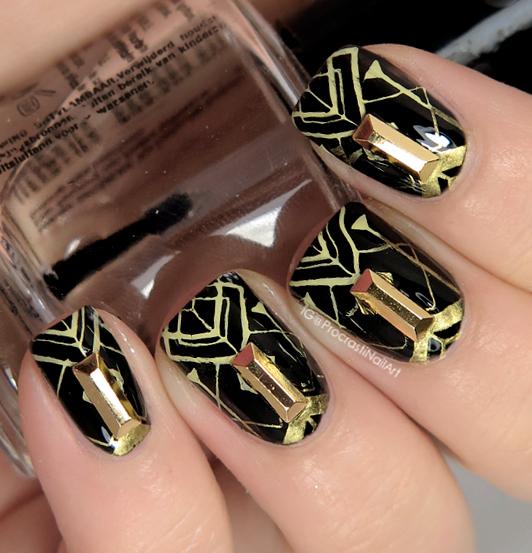 Nail Art The Digit Al Dozen Does Decades 1920s Art Deco Nails