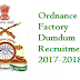 Ordnance Factory Dumdum Recruitment 2017-2018 Apply Online www.ordnancedumdum.nic.in
