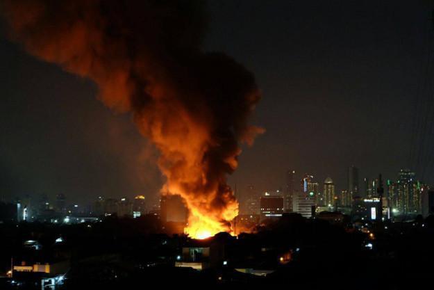 penyebab pasar kebakaran