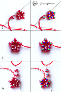 DIY Part 2 Tutorial How to create a blackberry or raspberry necklace and pattern