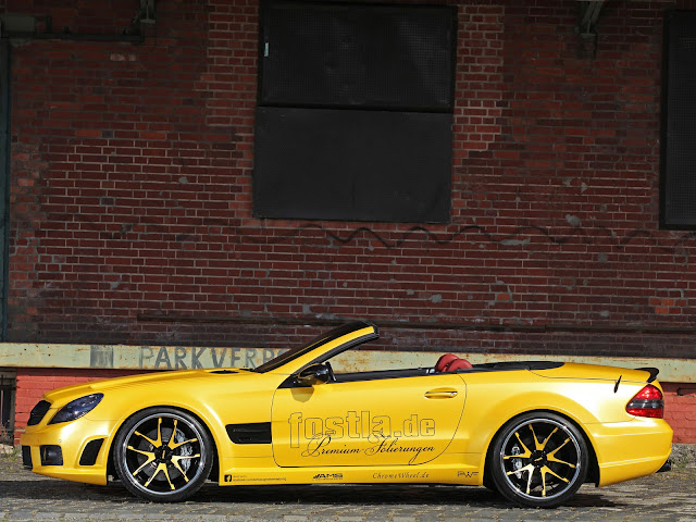 mercedes sl wheels