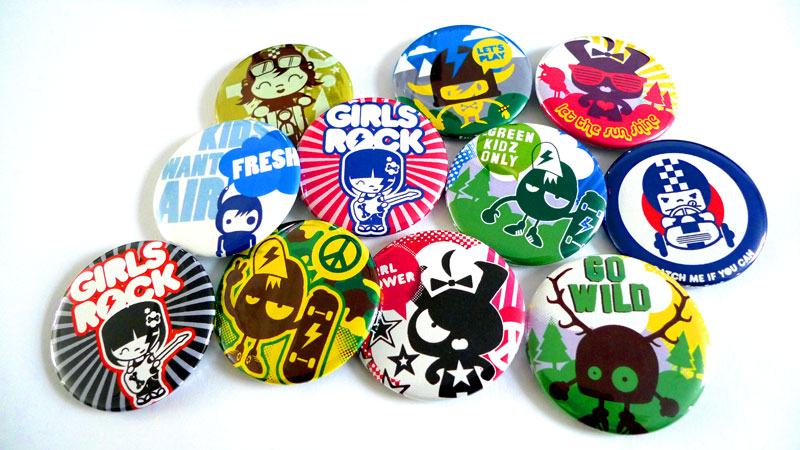 Kidz With Character: BUTTON MAKER / 5,5cm