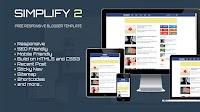 Simplify2 Seo Blogger Teması