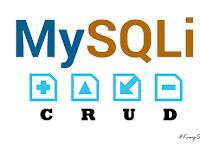 Membuat CRUD dengan MySQLi dan PHP