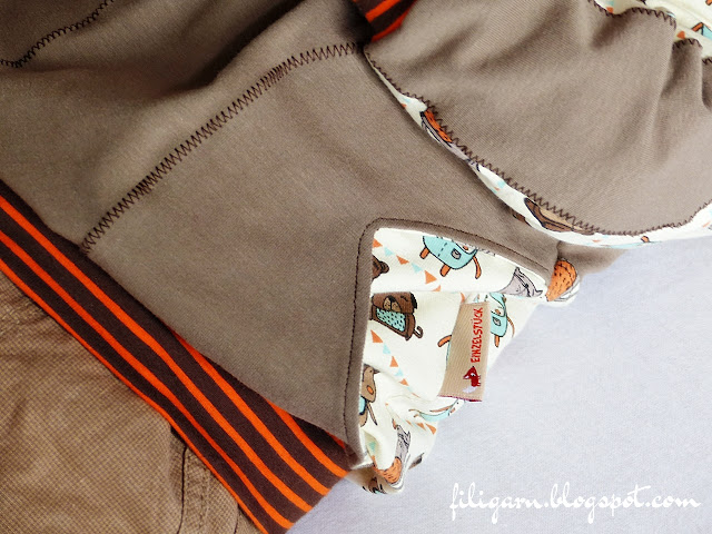filigarn.blogspot.com - genähtes - Unser treuer Begleiter: Hoodie Seth