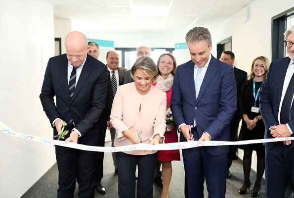 Grand Duchess Maria Teresa attended the opening of the Center for the Development of Apprenticeships Grand Duchess Maria Teresa