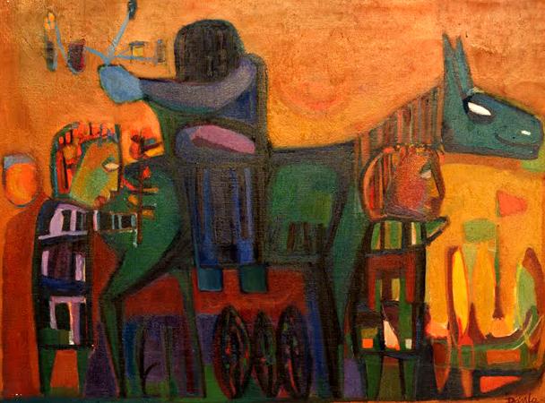 Pintura: MIGUEL DÁVILA