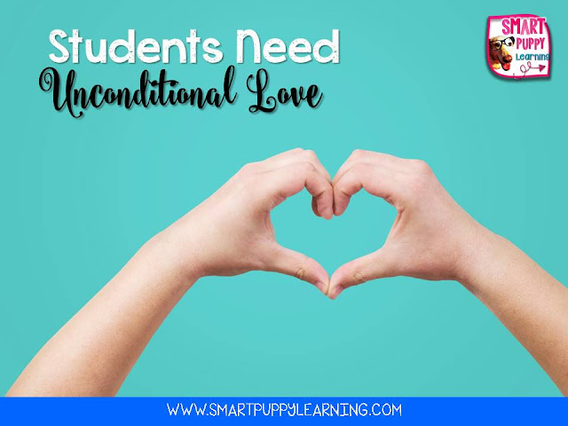 Unconditional Love is Important to Student Success