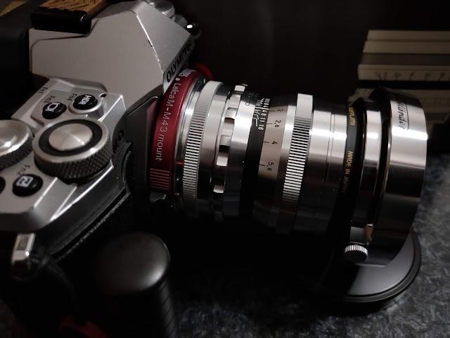 E-M Mark II + ULTRON 35mm F1.7 VM