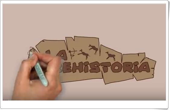 """""""La Prehistoria en 6 minutos"""" (Vídeo)"""