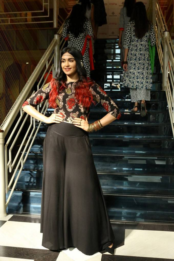 Adah Sharma At Craftsvilla Indian Ethic Wear Fashion Show Stills