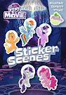 My Little Pony MLP The Movie: Sticker Scene Book Books