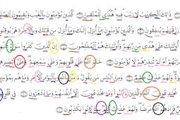 Hukum Tajwid Surat Al Baqarah Ayat 1-10 Lengkap
