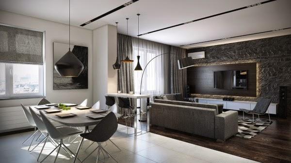 Idee sull 39 arredamento soggiorno salotto moderno - Arredamento soggiorno moderno idee ...