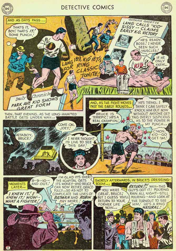 Read online Detective Comics (1937) comic -  Issue #174 - 10