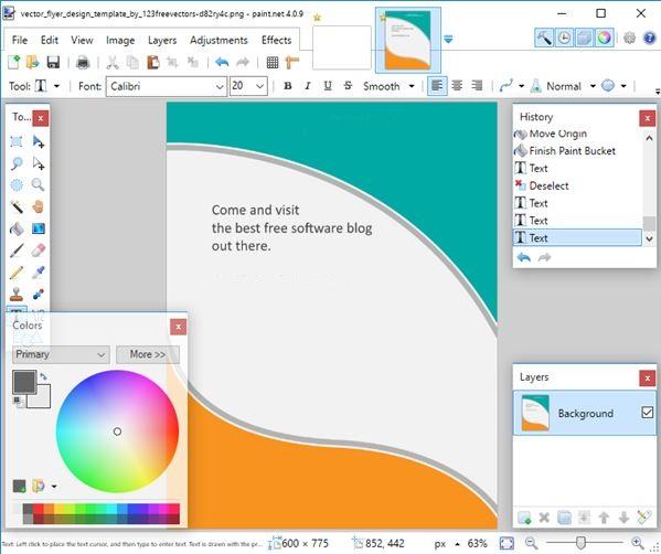 4 Software Untuk Membuat Poster di Windows 10 | semutsujud
