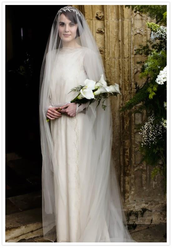 Abiti Da Sposa Stile 900.Pazza Idea Gli Abiti Da Sposa Di Downton Abbey