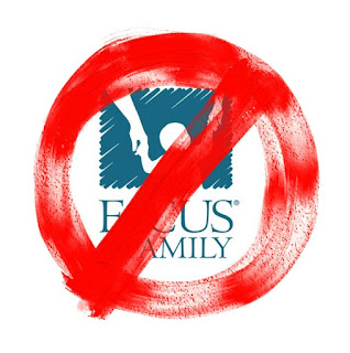 Don't donate to the Hate Group Focus On The Family