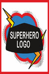 Edible Image Superhero Logo