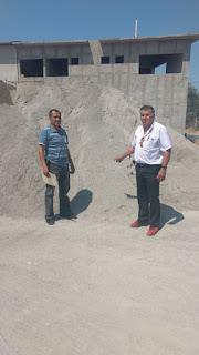 Entregan material para construcción de un pozo en la comunidad de San Miguel Las Palmas