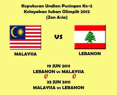 LIVE MALAYSIA VS LEBANON LUBNAN 23 JUNE 2011   LIVE STREAMING ONLINE