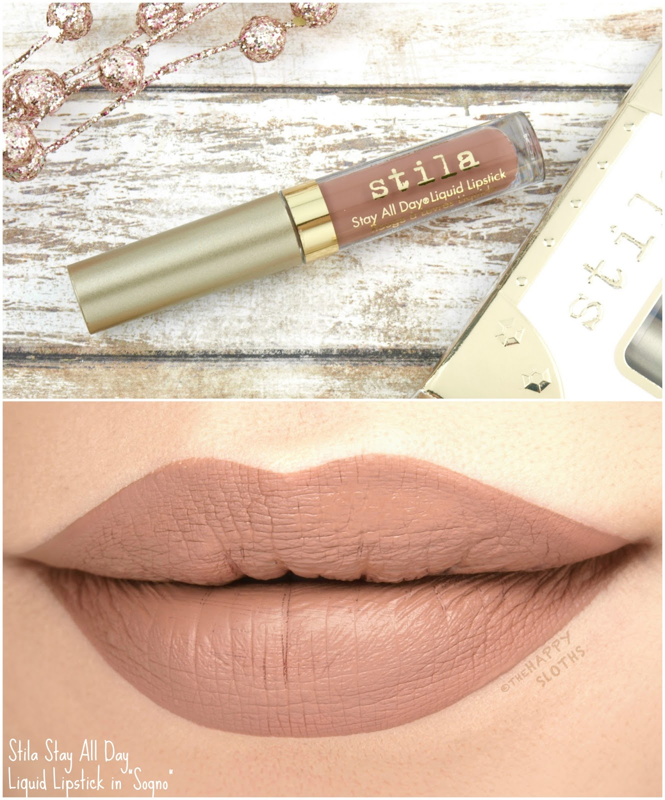 "Stila Stay All Day Liquid Lipstick in ""Sogno"": Review and Swatches"