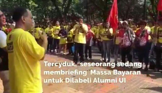 "Balada ""Alumni Nasi Bungkus UI"" for Jokowi"