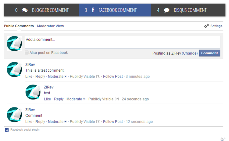 How to Add Facebook and Disqus Comment Systems to