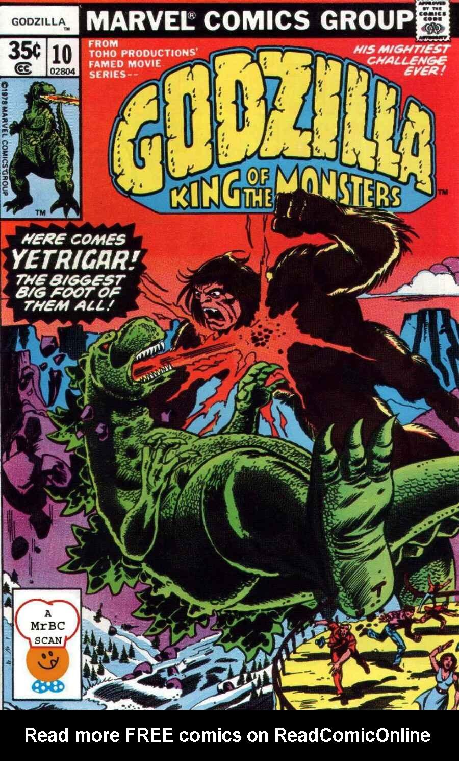 Godzilla (1977) issue 10 - Page 1