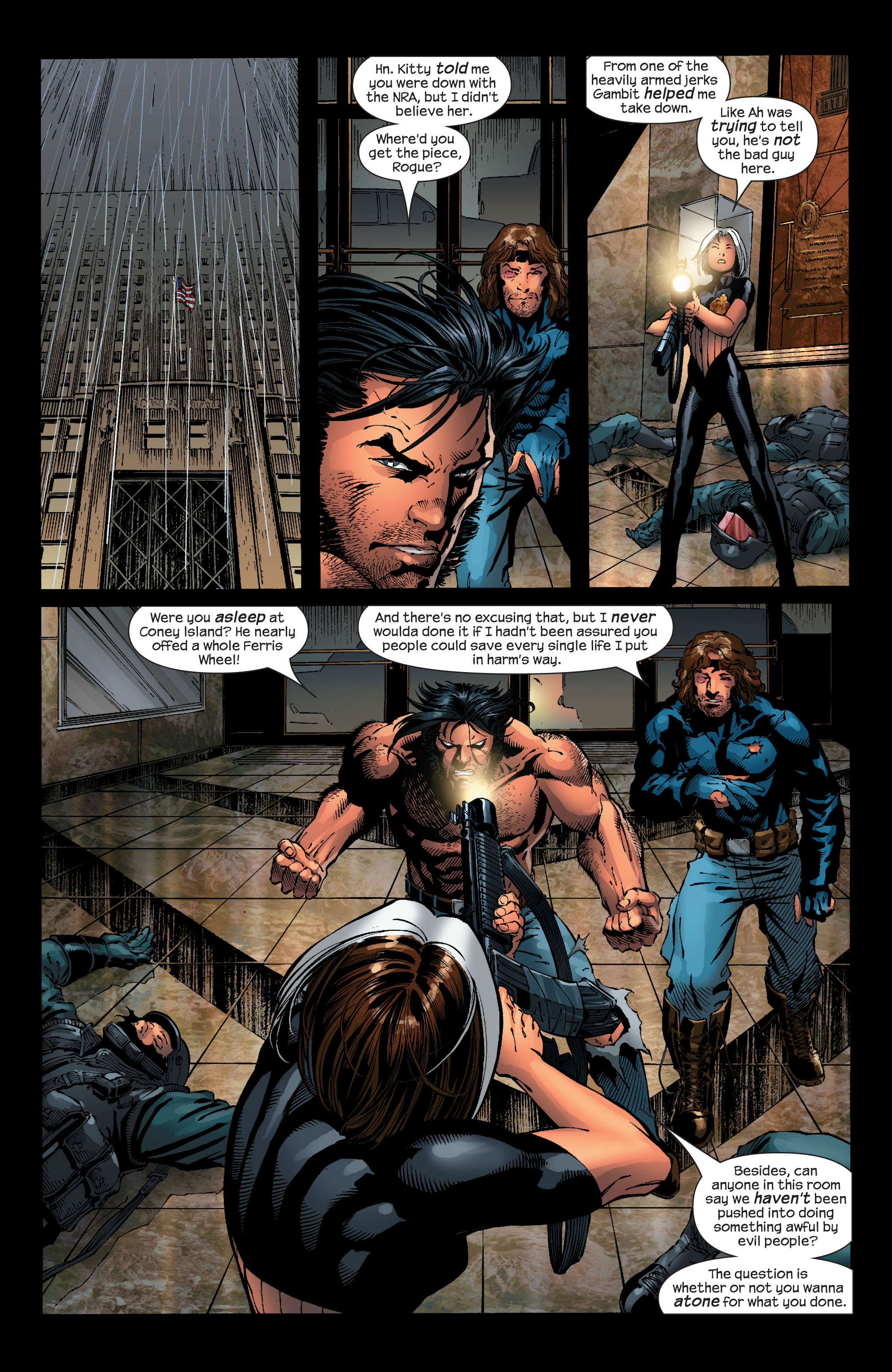 Read online Ultimate X-Men comic -  Issue #53 - 17