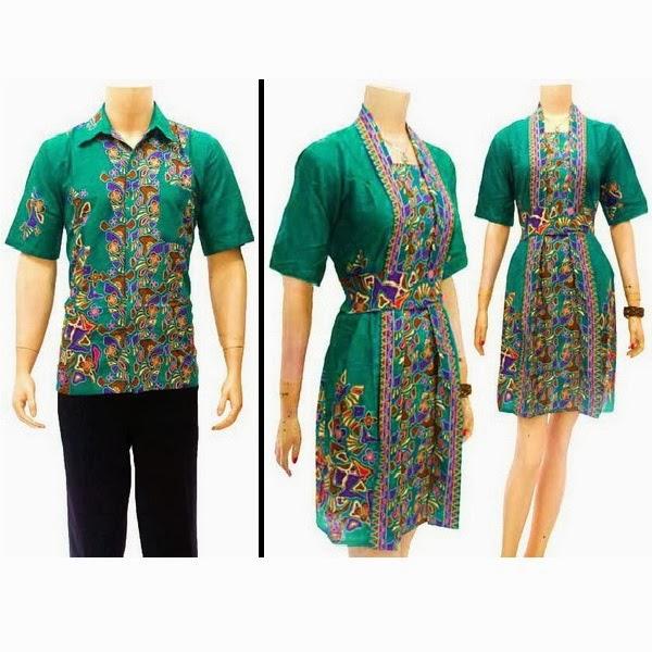 Toko Baju Batik Solo: Sarimbit Dress Batik Solo KODE : SD 2842