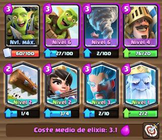 Nuevo mazo log bait clash royale