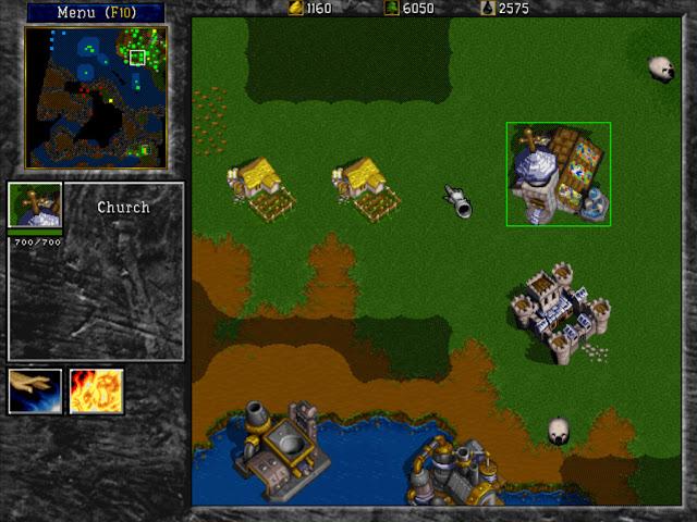 Warcraft 2 Church Screenshot