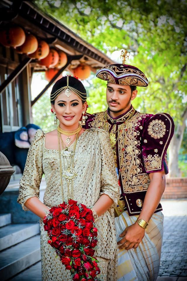 kandyan wedding dress