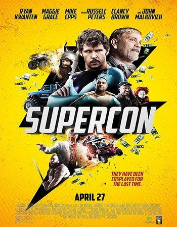 Supercon (2018) English 720p WEB-DL