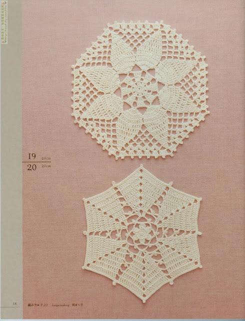 Motivos de Crochê Com Gráfico 6