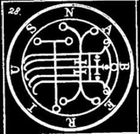 naberius, sigilo, goetia, daemon, ocultismo