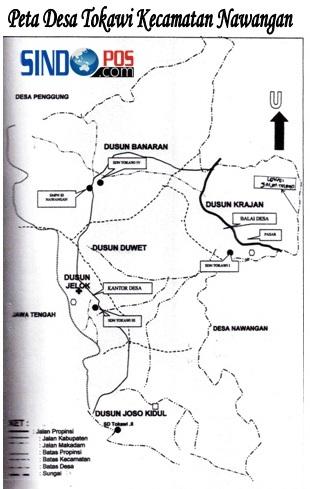 Profil Desa & Kelurahan, Desa Tokawi Kecamatan Nawangan Kabupaten Pacitan