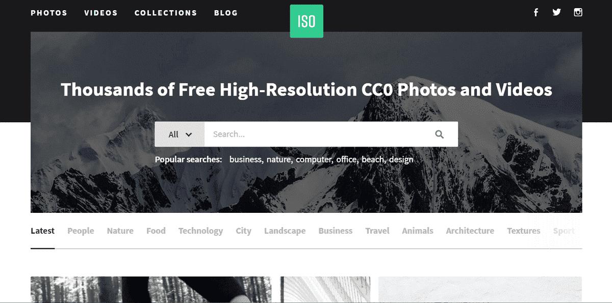 ISO Republic 免費圖片、短影片素材